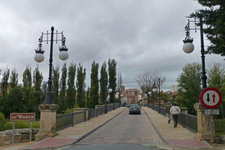 Puente travesía de Soria