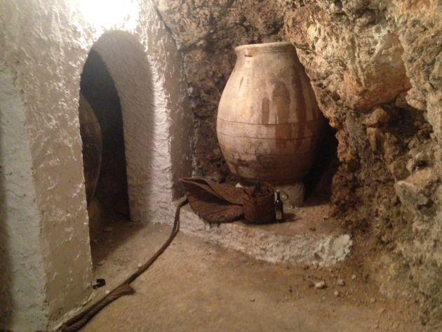 Cueva en el Ayuntamiento de Tarancón