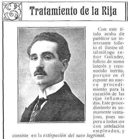 Artículo sobre el doctor Jesús Galíndez.