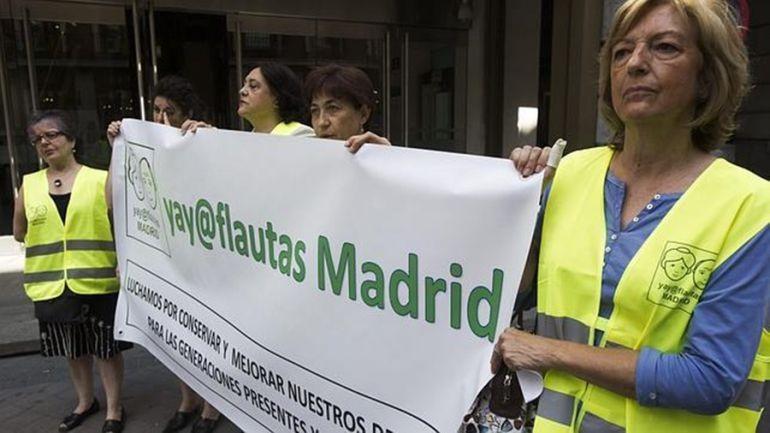 Los pensionistas llaman a toda la población a movilizarse este jueves en Salamanca