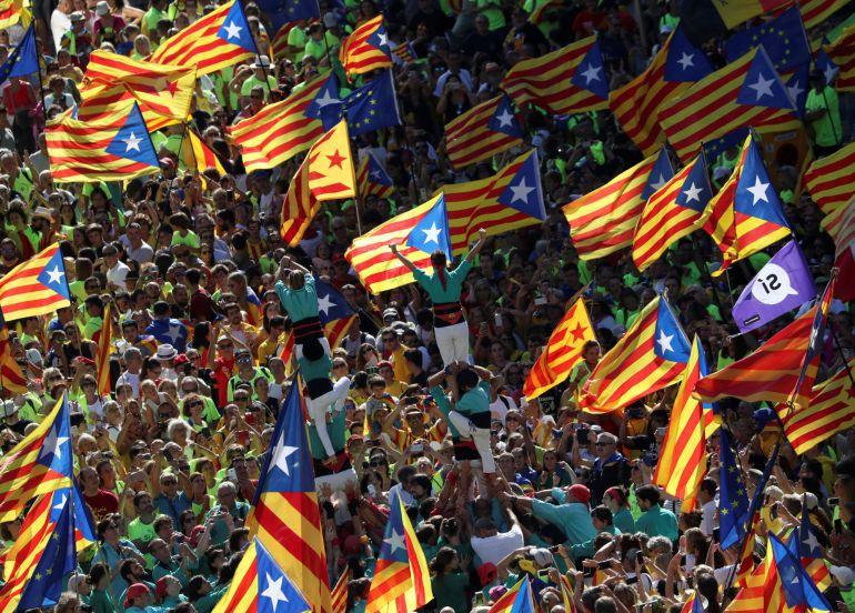 El 'Sí' a la independència cau 8 punts