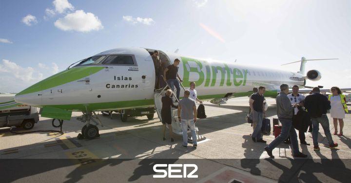 Binter estrena vuelos nacionales fuera de canarias con - Transporte entre islas canarias ...