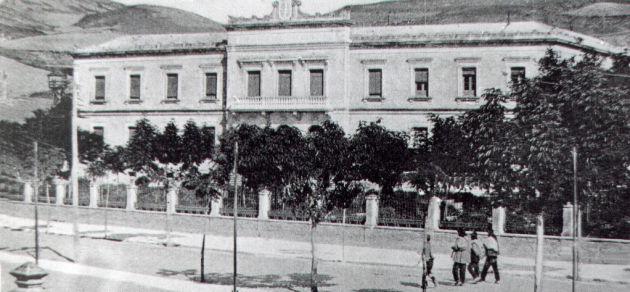 Palacio Provincial de Cuenca en la primera mitad del siglo XX.