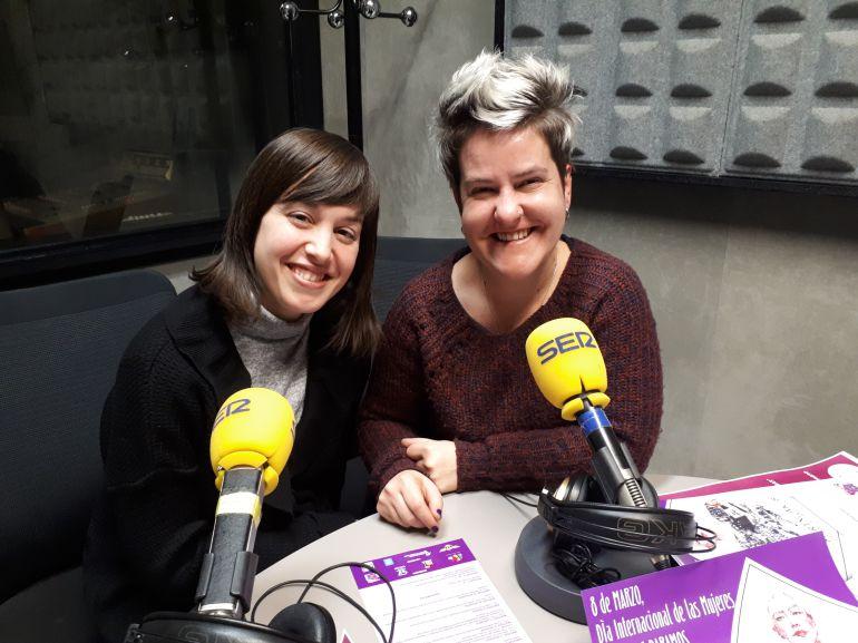 Zaida y Ainhoa nos han ofrecido los detalles de la programación del Día Internacional de la Mujer en Eibar