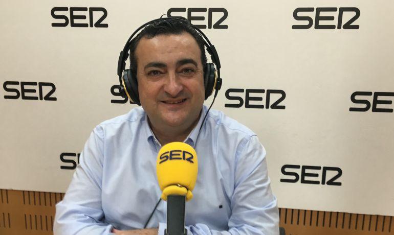 Domingo Camacho, director de la Cadena SER en la Región de Murcia.