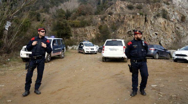 El detingut, Jordi Magentí, no va baixar del cotxe.