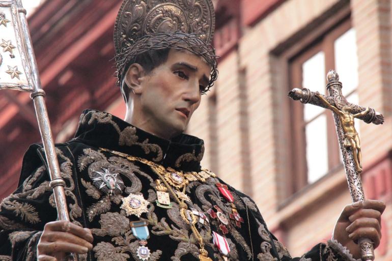 La imagen de San Juan de Dios, copatrón de Granada