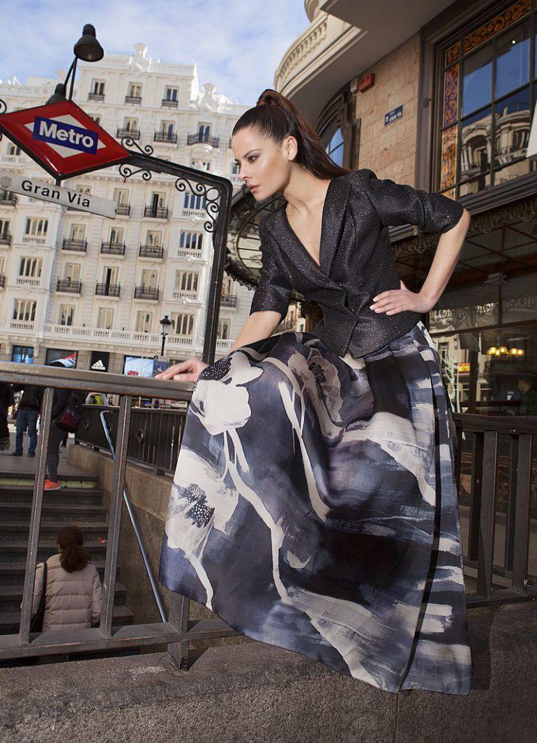 La salmantina Fely Campo presenta en París parte de su colección de otoño