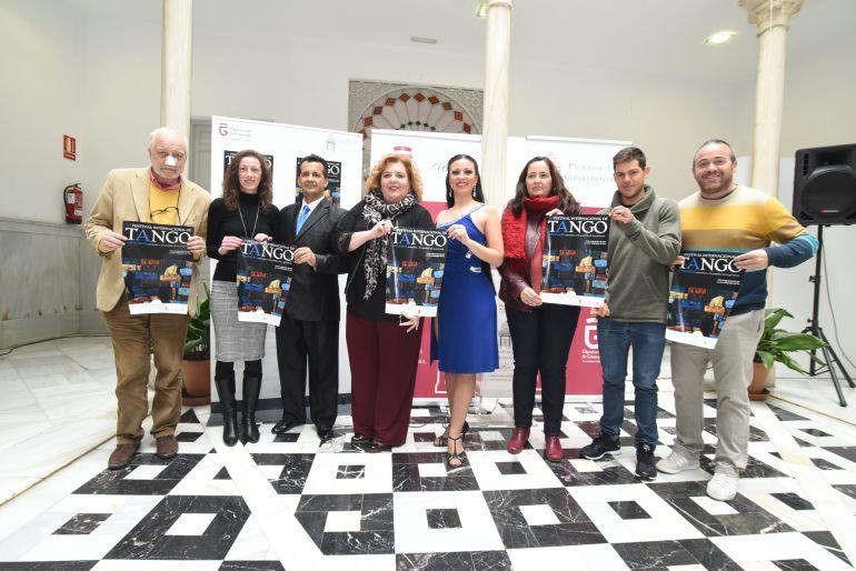 Presentación del cartel oficial del Festival de Tango de Granada