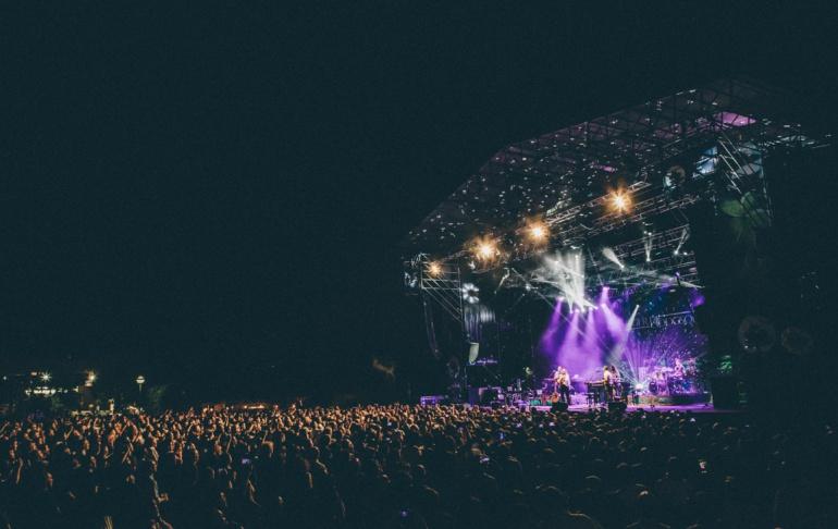 Un concierto de la pasada edición de Noches del Botánico