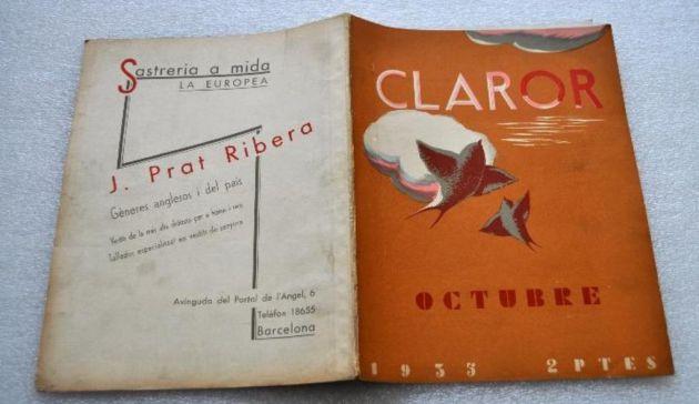 Revista 'Claror'.