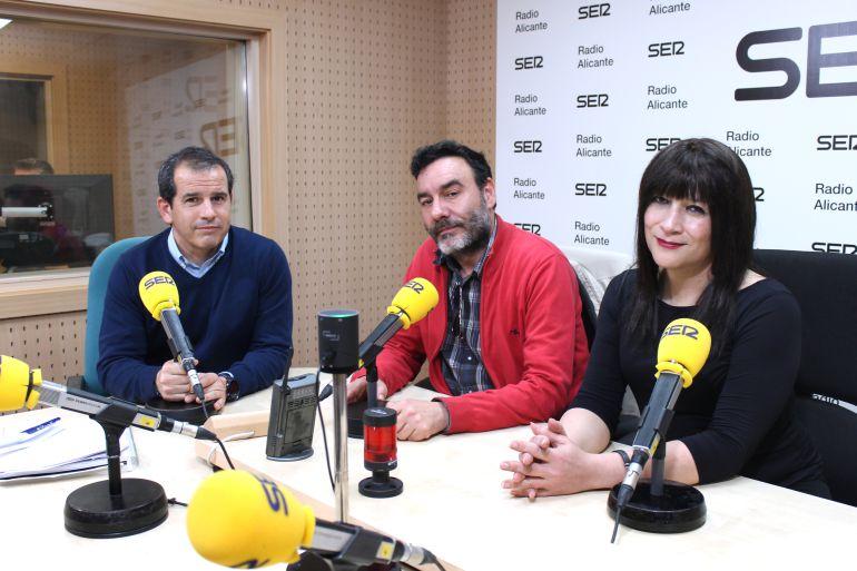 Carlos Lamm y Lydia Na, organizadores de NosGusTrans, el Festival de Cine Trans de Alicante