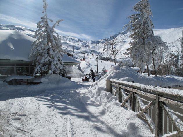 Granada: Este vídeo te muestra en menos de 2', las pistas de esquí como nunca las has visto