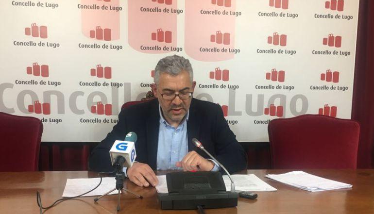 Miguel Fernández apunta que todos los miembros del gobierno de Lugo renunciarán al sueldo en el Día de la Mujer