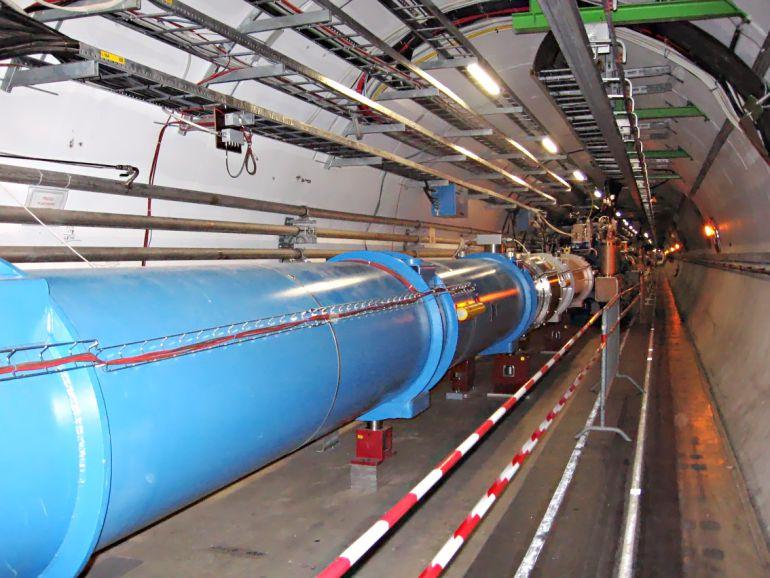 El Colisionador de Hadrones de Suiza