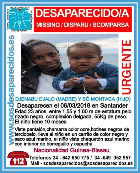 Buscan en San Sebastián a una mujer de Guinea y a su hijo de 10 meses