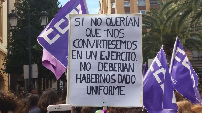 Manifestación Oviedo 8M