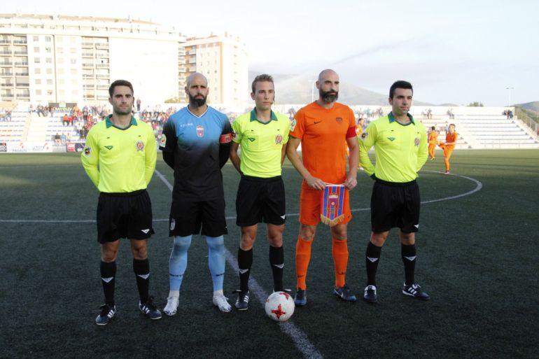 El joven árbitro valenciano pitó a los mismos equipos en la primera vuelta