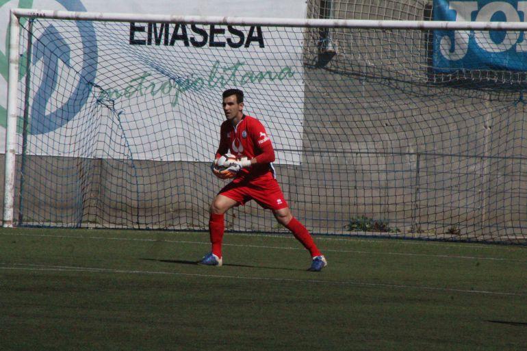 José Manuel Camacho, durante un partido esta temporada