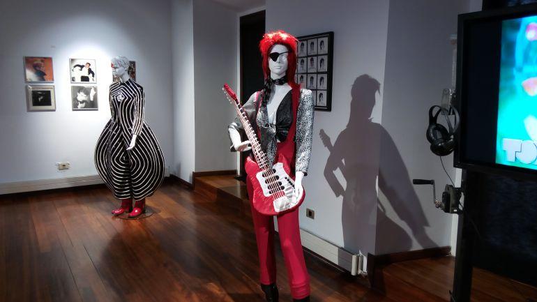 Exposición dedicada a David Bowie en la sala Luis Vélez de Medina del Campo