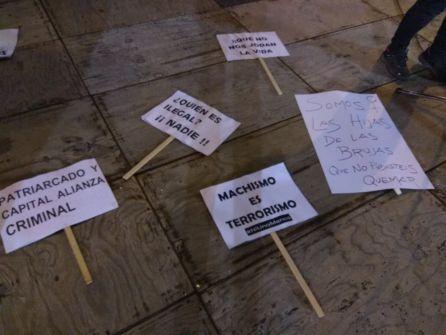 Miles de personas claman en Palencia por la igualdad real entre mujeres y hombres