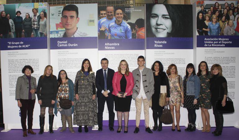 Alhambra Nievas, mejor árbitro de rugby del mundo, recibe la Mención Especial de los Premios a la Igualdad