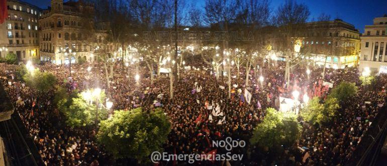 Un clamor por la igualdad en el centro de Sevilla