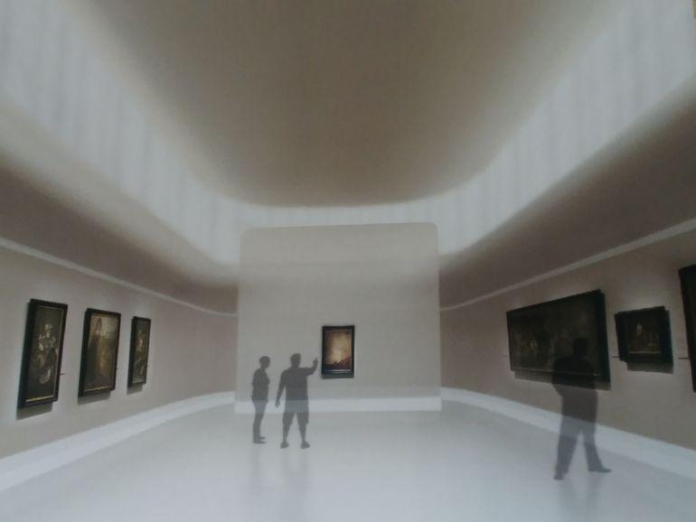 Recreación virtual de la futura 'Sala Prado'