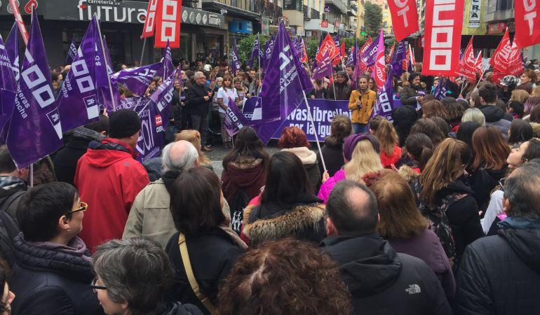 Cuenca sale a la calle en la primera huelga feminista de nuestro país