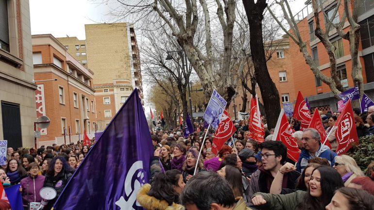 Importante respuesta de Guadalajara a la Huelga Feminista