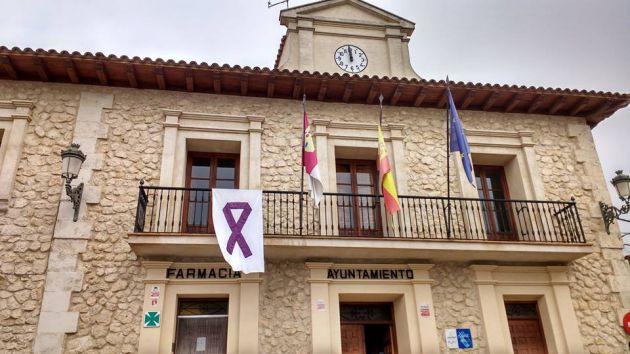 Fachada del Ayuntamiento de Albalate de Zorita.