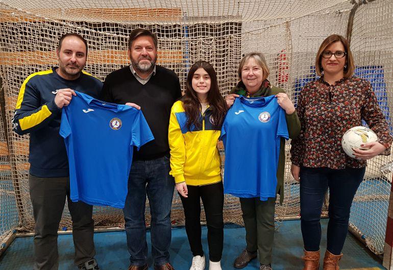 Presentación del recién creado equipo femenino del CFS Dianense Futsal.