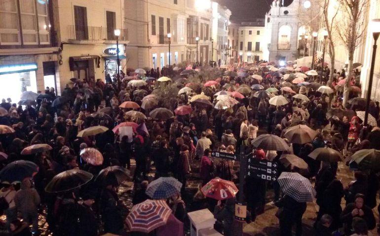 La manifestación de este jueves fue la más multitudinaria del último año en la Isla.