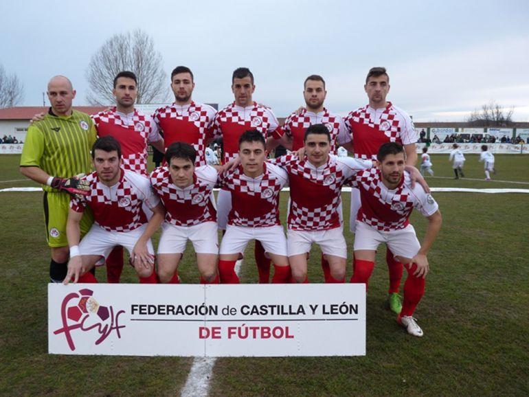 Imagen de la selección UEFA de Castilla y León. Federación de CyL.