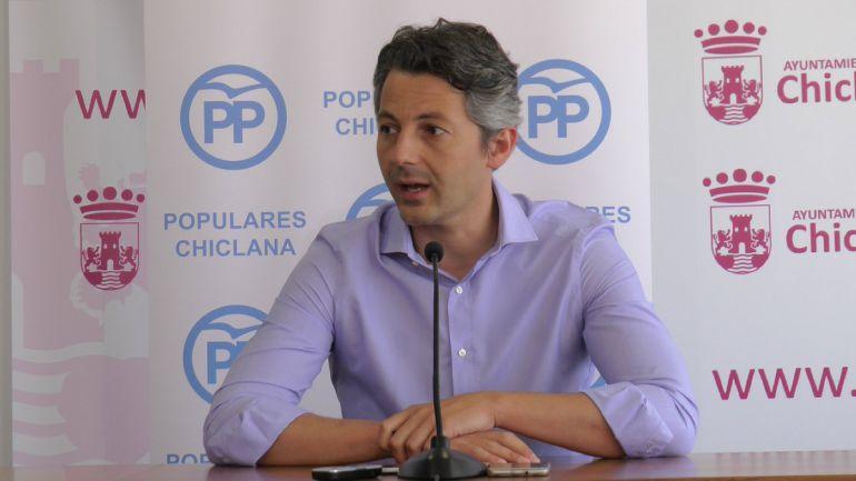 Andrés Núñez, candidato del PP en Chiclana