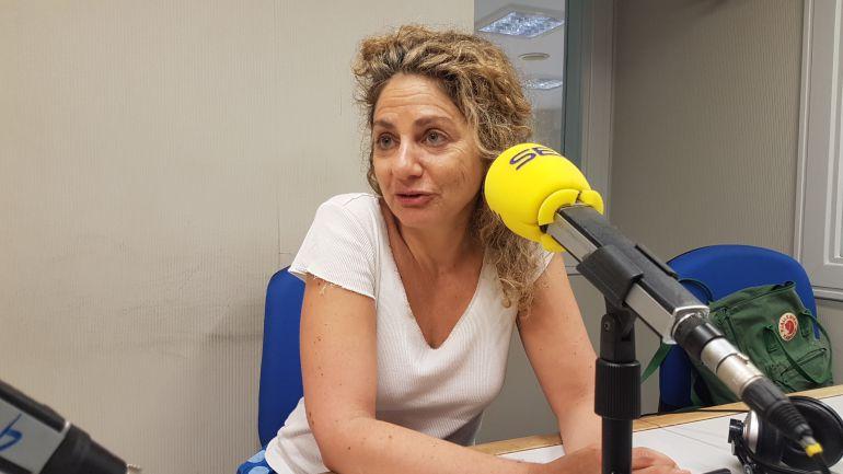 La fiscal, Pilar Fernández, durante una entrevista en la Cadena SER