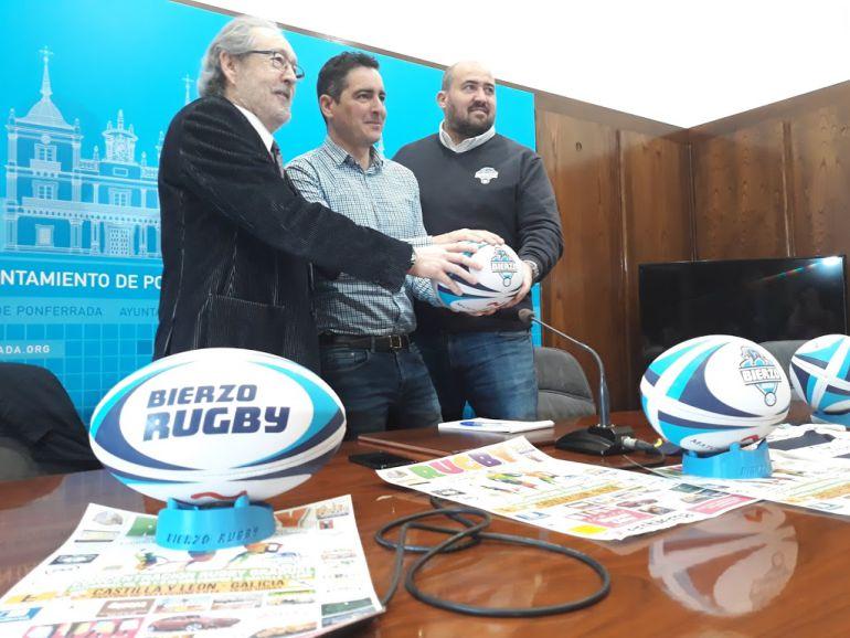 El Bierzo Rugby acoge una nueva edición de la concentración de lo equipos base de la comunidad