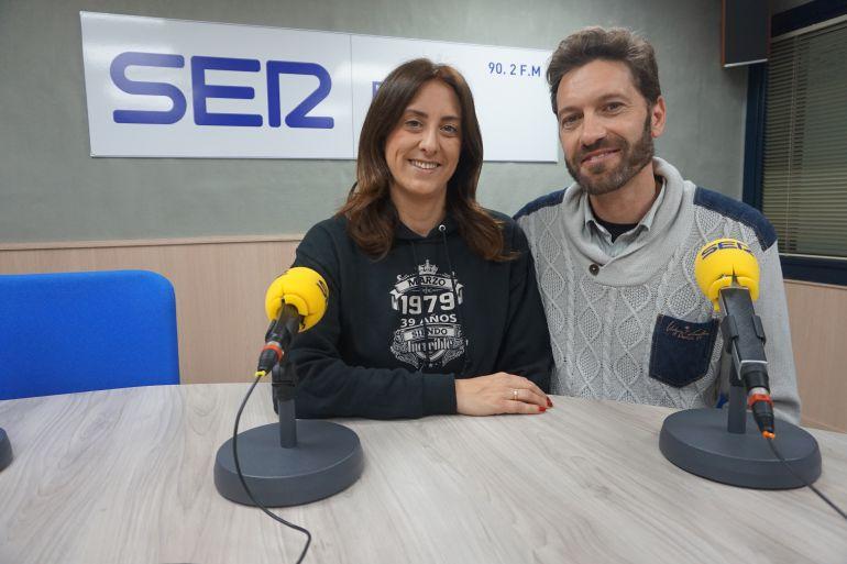 Esperanza y Javier en Radio Elda Cadena SER
