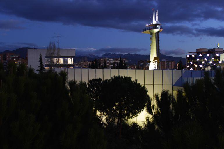 Torre del Parque de las Ciencias de Granada.