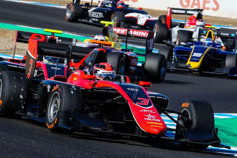 Competición de GP3 en el Circuito de Jerez