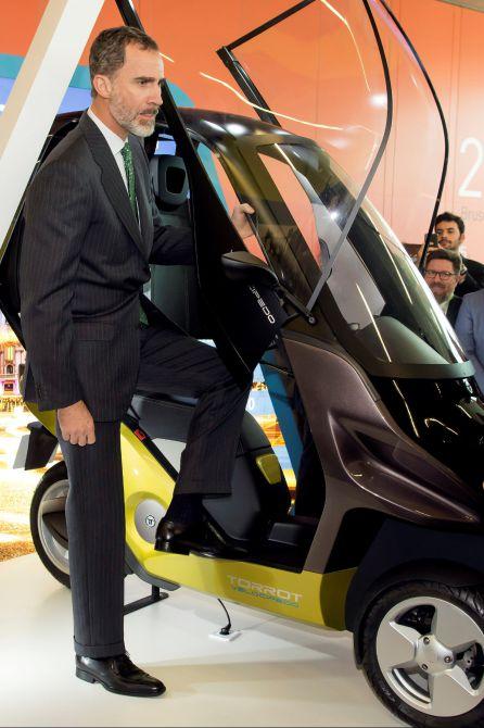 Felipe VI en la jornada inaugural de Andalucía Digital Week
