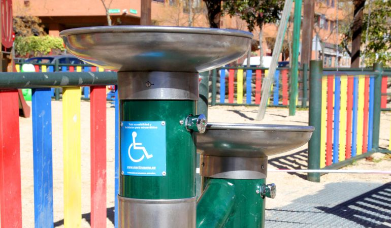Las nuevas fuentes están adaptadas a la infancia y a personas con movilidad reducida