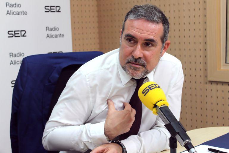 Lalo Díez, portavoz de la ejecutiva local del PSPV-PSOE y jefe de Gabinete de Alcaldía en el Ayuntamiento de Alicante