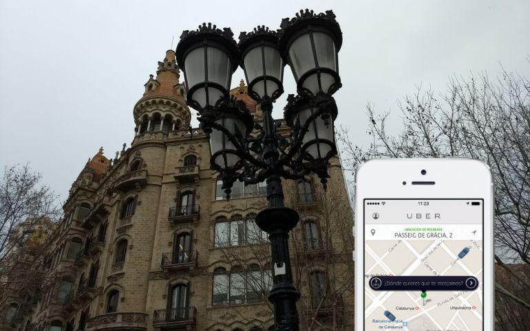Uber torna a Barcelona