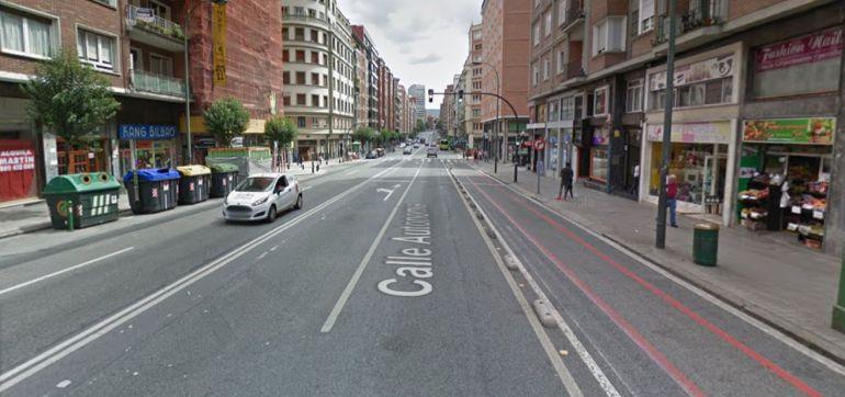 Autonomía y Gran Vía son los tramos donde más atropellos se producen en Bilbao
