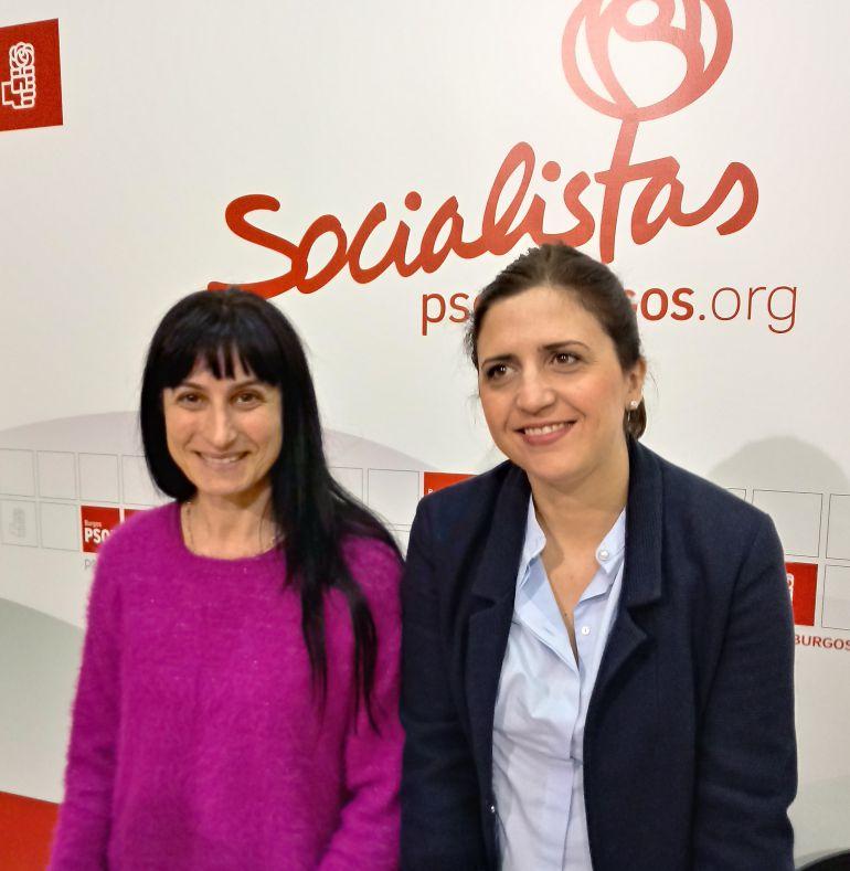 Silvia Adrián (izda) y Ester Peña
