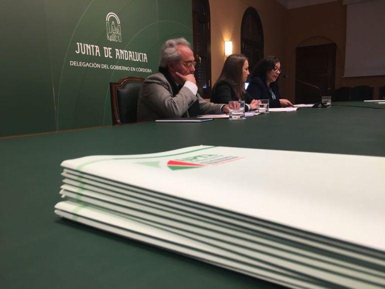 """Vargas, Ruiz y Mazuela en la presentación del informe """"Emprender sin fronteras"""""""