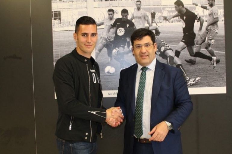 Sergi Guardiola será blanquiverde hasta el próximo 2022