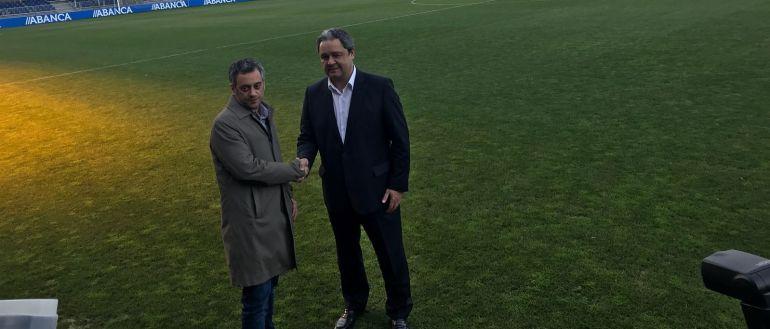 Xulio Ferreiro y Tino Fernández
