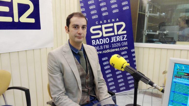 Antonio Gallardo, pregonero de la Semana Santa de Jerez, en nuestros estudios